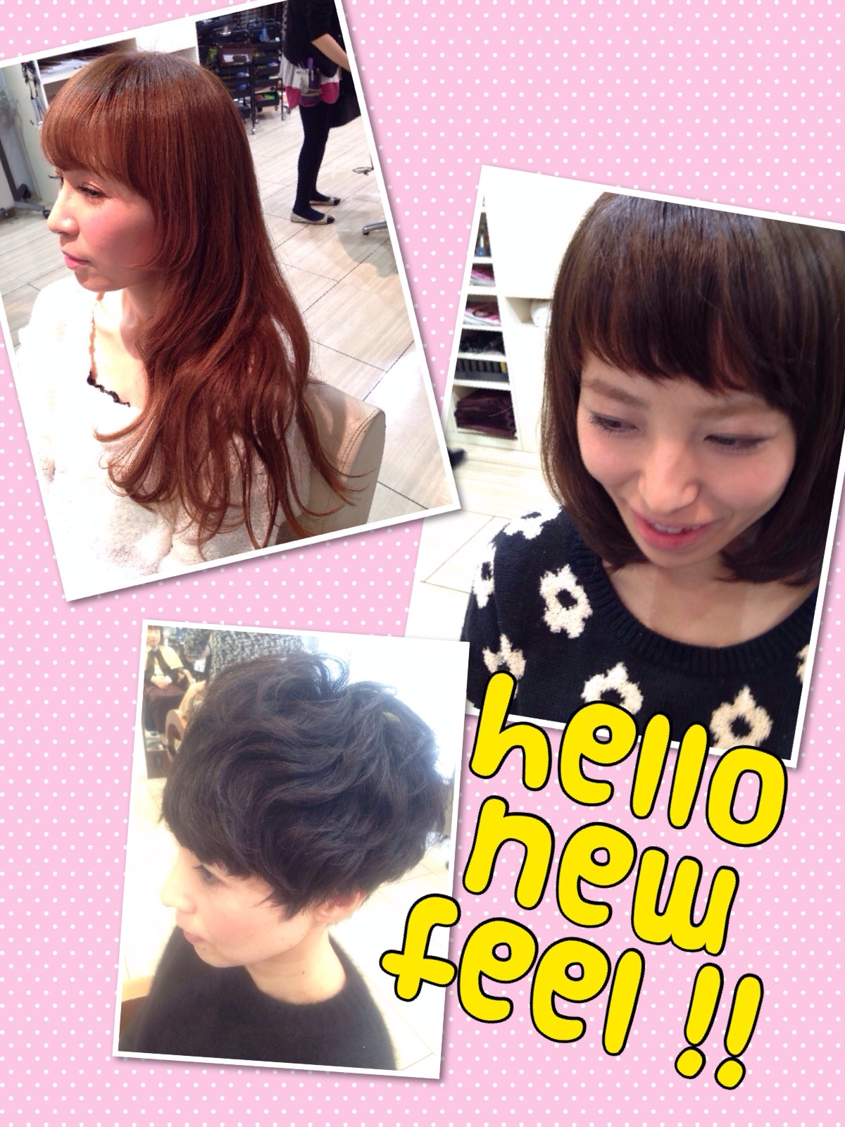 hello,new,feel!!